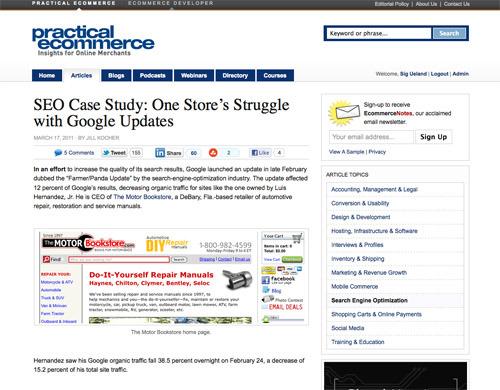 seo case studies 2013