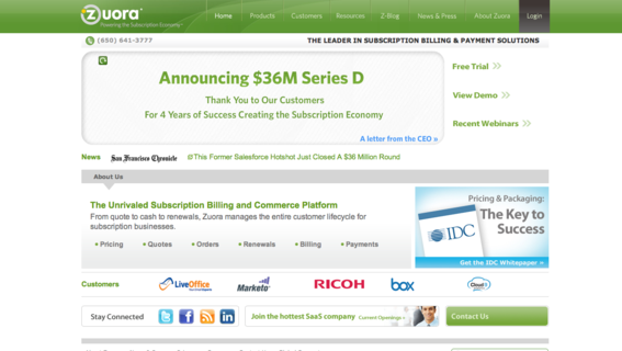 9 saas subscription-billing solutions | practical ecommerce, Invoice examples