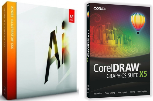 Adobe Illustrator and CorelDraw are both advanced image editors.