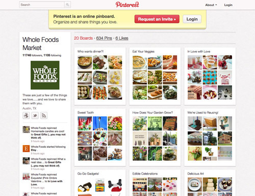 Whole Foods Market on Pinterest.