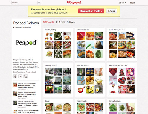 Peapod on Pinterest.