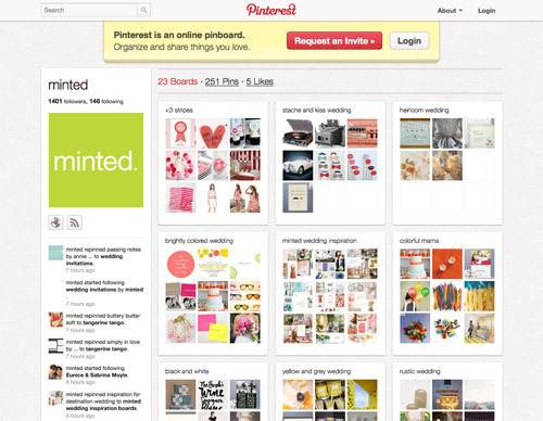 Minted on Pinterest.