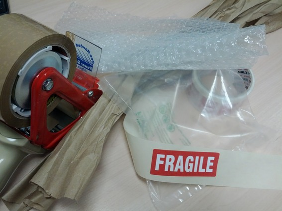 There are a variety of packing materials designed to protect against different types of abuse during shipping.