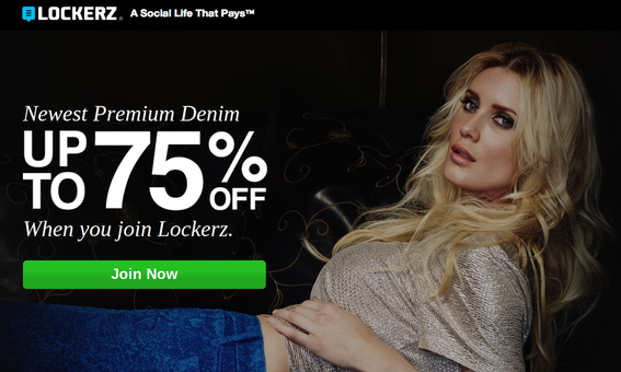 "This was the landing page for the ad on the ""men's jeans"" search results page."