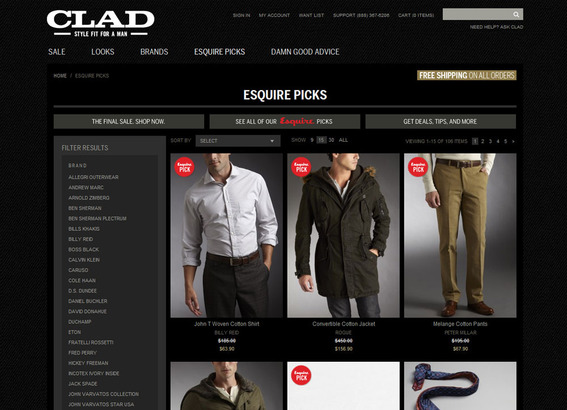 Clad is what happens when ecommerce and publishing merge.