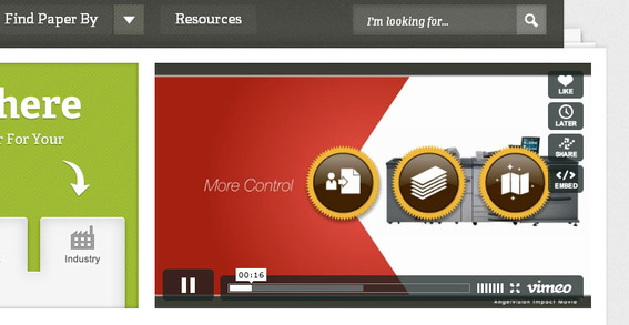 Video is an excellent way to communicate with site visitors.