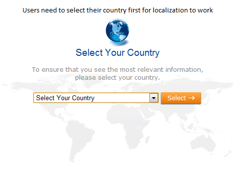 Localization adapts your site to the language and culture of your customers, making them more comfortable.