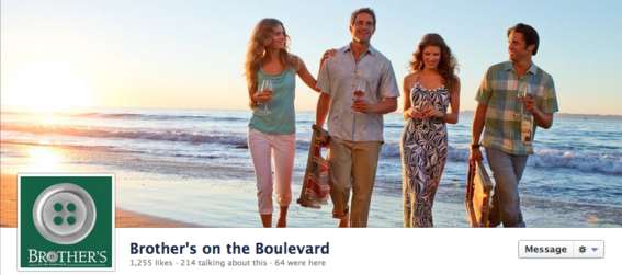 Cover image of Louisiana-based clothing retailer Brother's on the Boulevard.