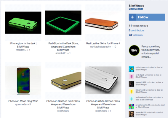 Slickwraps offers products for iPhone and iPad.