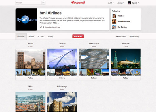 BMI Airlines on Pinterest.