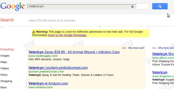 The ad preview tool from Google can provide hints to why an ad is or is not performing.
