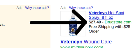 "Prices in PPC ads can boost conversion rates, since they prevent some ""window shopping"" clicks."