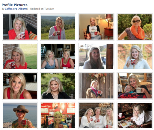 Coffee.org loves profile photos. There are 192 of them.