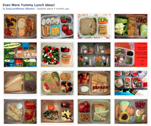 Easy Lunch Boxes packs lunchbox ideas into these photos.