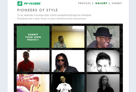 PF Flyers is using Facebook to engage new customers.