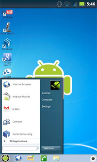 Windows 7 for Android.