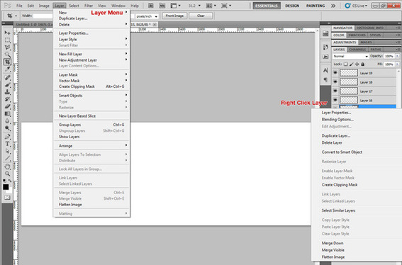 Layers allow you to overlap images safely, and provide greater control over your design and layout.