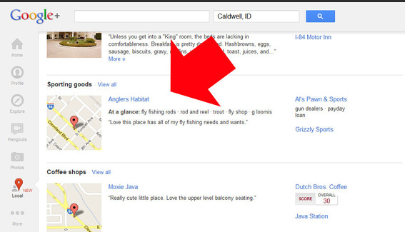 Google+ Local is the most recent update to the search company's growing social network.
