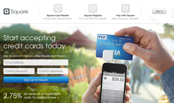 Square, a provider of mobile payment technology, has raised $138 million in three separate investment rounds.