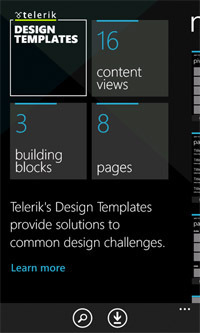 Telerik Design Templates.
