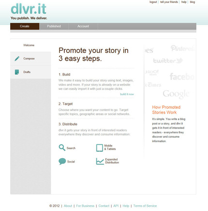 Promoted Stories enables merchants to syndicate content beyond social networks.
