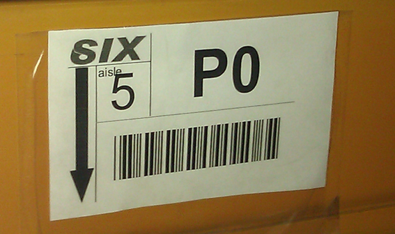 By placing barcodes on storage locations, a warehouse employee must first get to that location before he or she receives additional picking details, such as the product name and the quantity.