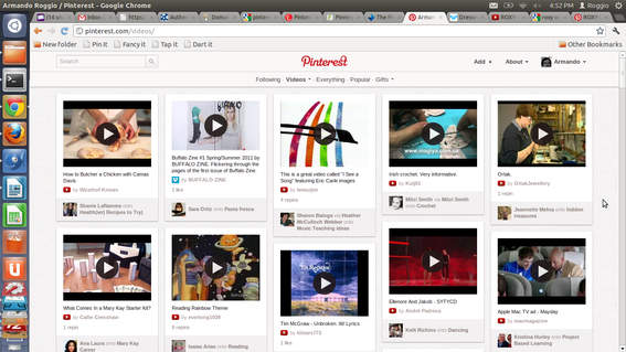 Videos make for great Pinterest pins.