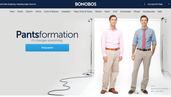 Nordstrom, the mainly brick and mortar retailer, invested in Bonobos, an ecommerce company.