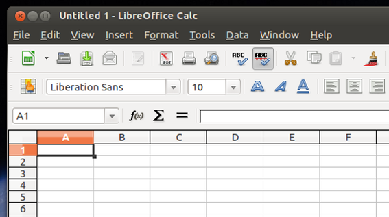 LibreOffice Calc is a capable spreadsheet solution.