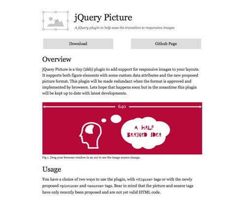 jQuery Picture.