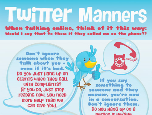 Twitter Manners.