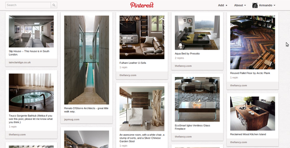 Pinterest is a platform for visual communications.