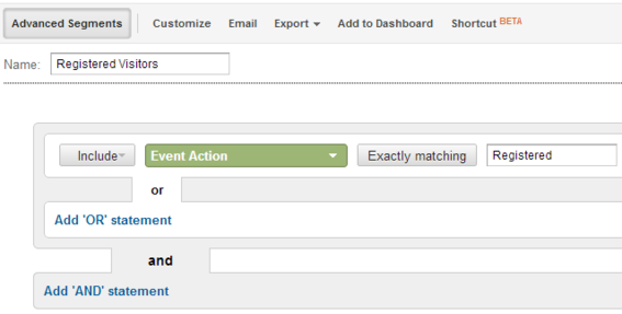 Non-interaction event in Google Analytics.