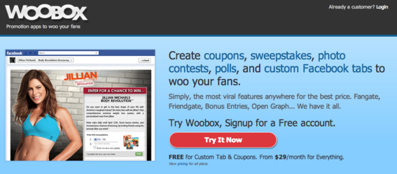 Two of Woobox newest apps are Pinterest tab and Photo Contests.