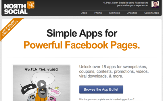 North Social offers a suite of more than 20 Facebook Page apps.