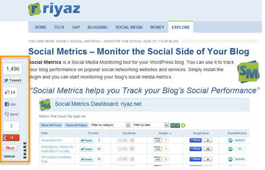 GetSocial is a WordPress plugin.
