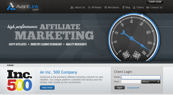 AvantLink is one of several leading affiliate marketing networks.
