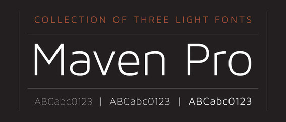 Maven is from designer Joe Prince and available from Lost Type.