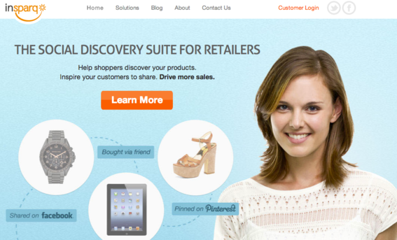 inSparq provides three social discovery tools specifically for retailers.