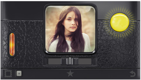 "Hipstamatic combines digital lens, flash and ""film"" options to create vintage effects."