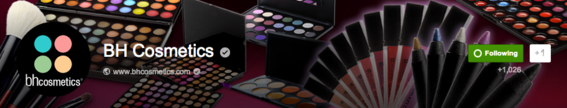 BH Cosmetics cover image.