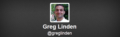 Greg Linden Twitter Feed
