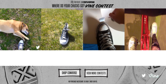 Retailer Urban Outfitters used Vine to promote a contest.