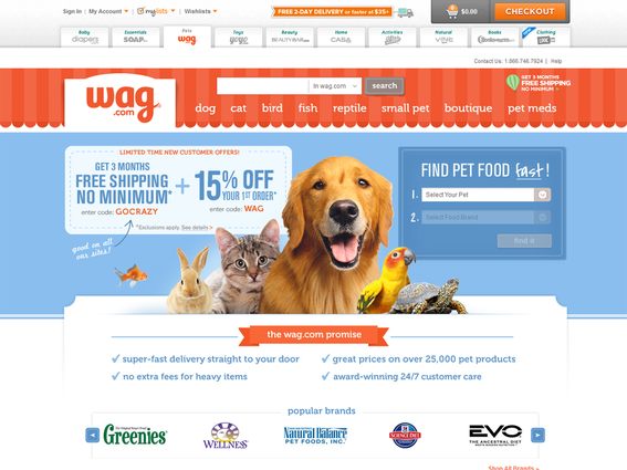 Wag.com knows the lifetime value of a customer.