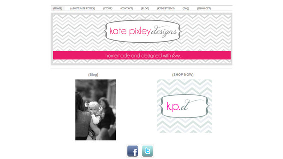 Kate Pixley uniquely tailors her products to her customers.