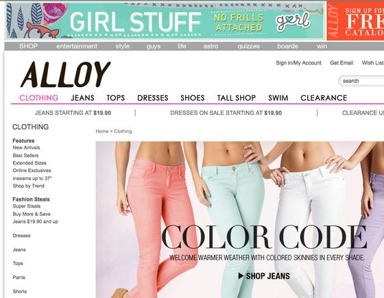 teenage online shopping trends practical ecommerce. Black Bedroom Furniture Sets. Home Design Ideas