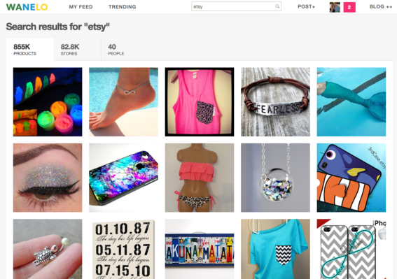 Search results for Etsy on Wanelo.