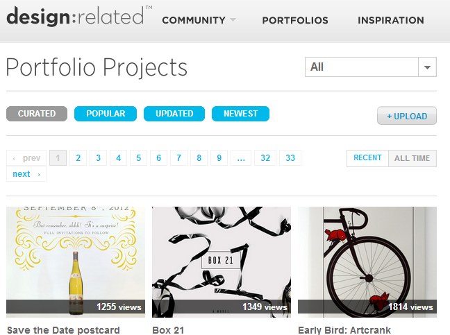 Art and Design Portfolio Projects - design:related