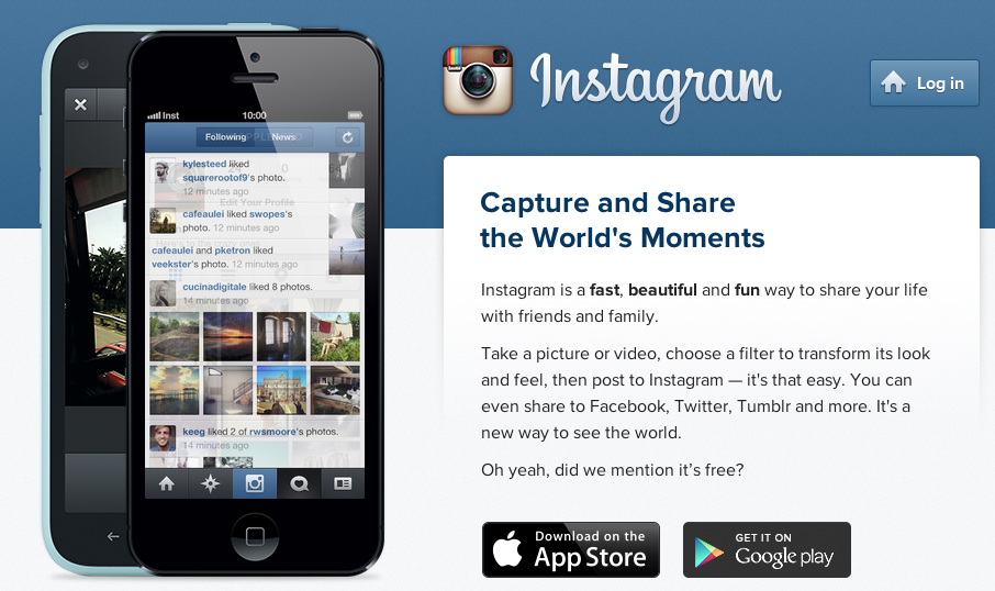 Instagram claims 200 million users who upload 60 million photos each day.
