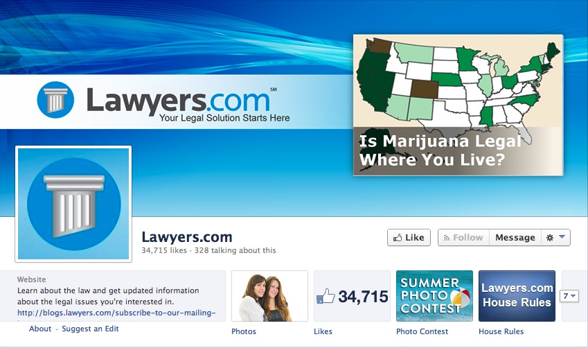 Lawyers.com Facebook
